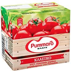Χυμός τομάτας PUMMARO κλασικός ελαφρά συμπυκνωμένος (500g)