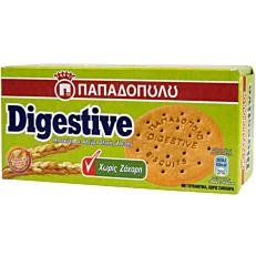 Μπισκότα ΠΑΠΑΔΟΠΟΥΛΟΥ Digestive χωρίς ζάχαρη (250g)