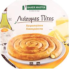 Κασερόπιτα BAKER MASTER Λιόζυμες Πίτες στριφτή κατεψυγμένη (1kg)