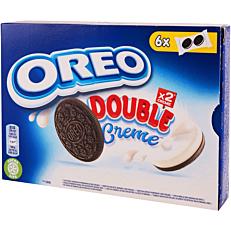 Μπισκότα OREO με διπλή βανίλια (170g)