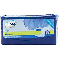 Σερβιέτες TENA Lady super για την ακράτεια (15τεμ.)
