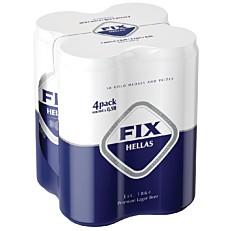 Μπύρα FIX HELLAS (4x500ml)
