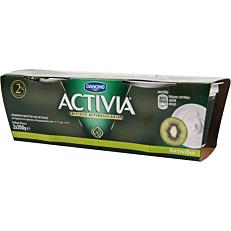 Γιαούρτι DANONE ACTIVIA με ακτινίδιο (2x200g)