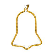 Φωτεινό περίγραμμα καμπάνα κίτρινη 1m