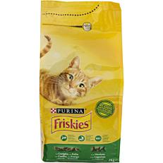 Ξηρά τροφή FRISKIES γάτας με κουνέλι, λαχανικά και δημητριακά (2kg)
