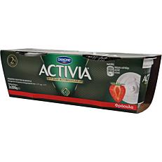 Γιαούρτι ACTIVIA με φράουλα (2x200g)