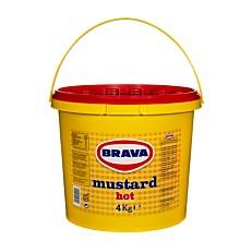 Μουστάρδα BRAVA πικάντικη (4kg)