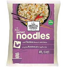 Noodles ORIENTAL EXPRESS κοτόπουλο και τσίλι 3' (87g)