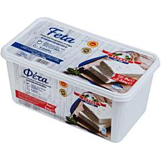 Τυρί ΛΥΤΡΑΣ ΠΟΠ φέτα βαρελίσια (2Κg)