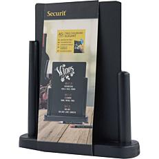 Μαυροπίνακας SECURIT Elegant επιτραπέζιος 15x21 με μαύρη βάση