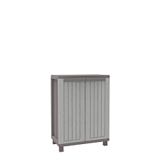 Ντουλάπα γκρι με ένα ράφι 68x37,5x91,50