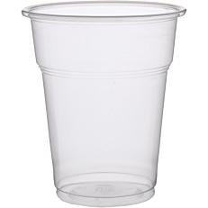 Ποτήρια πλαστικά PP διαφανή 300ml (50τεμ.)