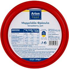 Μαρμελάδα ARION FOOD φράουλα (500g)