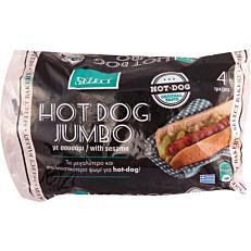 Ψωμί SELECT hot dog jumbo κατεψυγμένο (4τεμ.)