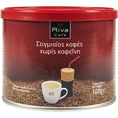 Καφές RIVA CAFÉ στιγμής decaf (100g)