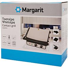 Τοστιέρα MARGARIT γκριλ 2000W