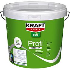 Χρώμα KRAFT Eco Profi Interior πλαστικό εσωτερικής χρήσης, λευκό (9lt)