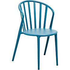 Καρέκλα με στρογγυλή πλάτη πράσινη
