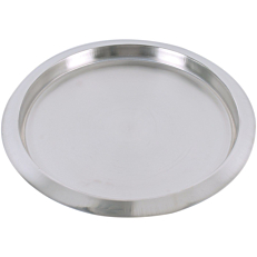 Δίσκος ζαχαροπλαστικής inox Φ35cm