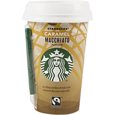 Ρόφημα καφέ STARBUCKS caramel macchiato (220ml)