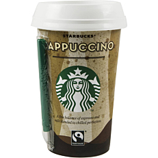 Ρόφημα καφέ STARBUCKS cappuccino (220ml)