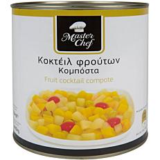 Κομπόστα MASTER CHEF κοκτέιλ φρούτων (1,485kg)