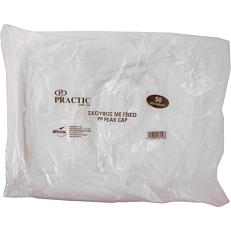 Σκούφος με γείσο λευκός (50τεμ.)
