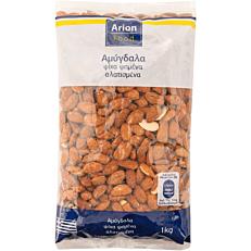 Αμύγδαλα ARION FOOD ψίχα, ψημένα, αλατισμένα (1kg)