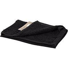Πετσέτα YASEMI χεριών 100% βαμβακερή μαύρη 30x50cm