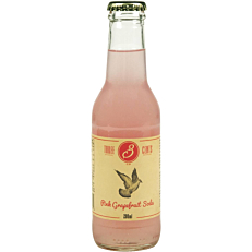 Αναψυκτικό THREE CENTS Pink Grapefruit Soda (200ml)