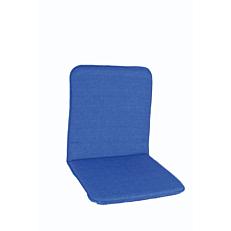 Μαξιλάρι πολυθρόνας με χαμηλή πλάτη μπλε (2τεμ.)