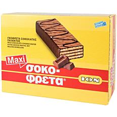 Γκοφρέτα ΙΟΝ σοκοφρέτα MAXI γάλακτος (15x52g)