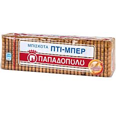 Μπισκότα ΠΑΠΑΔΟΠΟΥΛΟΥ ΠΤΙ ΜΠΕΡ No. 16 (225g)