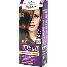 Βαφή μαλλιών SCHWARZKOPF palette semi set καστανό ανοιχτό σοκολατί no.5.76
