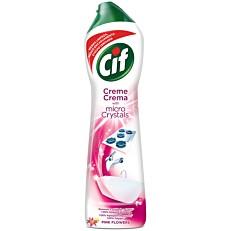 Καθαριστικό CIF για επιφάνειες με άρωμα pink flowers, κρέμα (500ml)