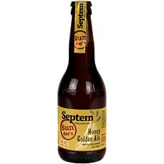 Μπύρα SEPTEM sunday's honey golden ale (330ml)