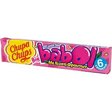Τσίχλες CHUPA CHUPS Big Babol tutti frutti (20τεμ.)