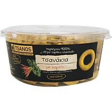 Κουλούρια TSANOS τσανάκια με καρότο (240g)