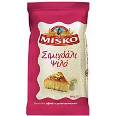 Σιμιγδάλι MISKO ψιλό σκληρού σιταρίου (400g)