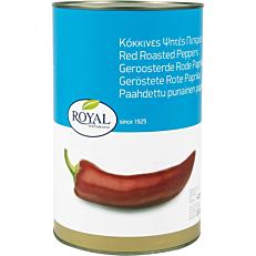 Κονσέρβα ROYAL πιπεριές κόκκινες ψητές σε άλμη (4,2kg)