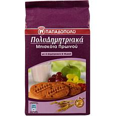 Μπισκότα ΠΑΠΑΔΟΠΟΥΛΟΥ πολυδημητριακά με 4 δημητριακά και muesli (175g)