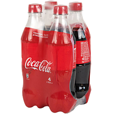 Αναψυκτικό COCA COLA regular (4x500ml)