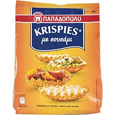 Παξιμάδια ΠΑΠΑΔΟΠΟΥΛΟΥ Krispies με σουσάμι (200g)