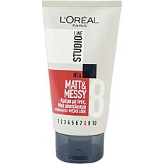 Κρέμα μαλλιών L'OREAL studio line mat & messy