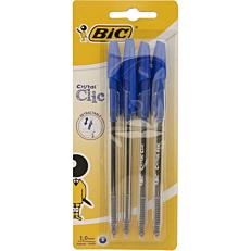 Στυλό διαρκείας BIC Cristal Clic μπλε
