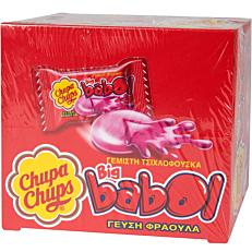 Τσίχλες CHUPA CHUPS Big Babol φράουλα (60τεμ.)