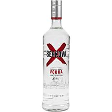 Βότκα SERKOVA απλή 37,5% vol. (1lt)