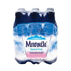 Νερό ΜΙΤΣΙΚΕΛΙ φυσικό μεταλλικό ανθρακούχο (6x500ml)