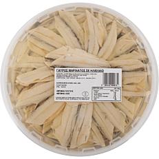 Γαύρος μαρινάτος (1kg - στραγγισμένο βάρος 600g)