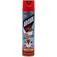 Εντομοαπωθητικό AROXOL dual action (300ml)